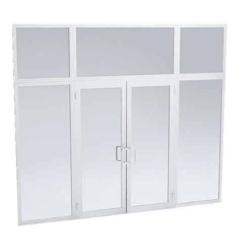 Aluminium Entrance Screens