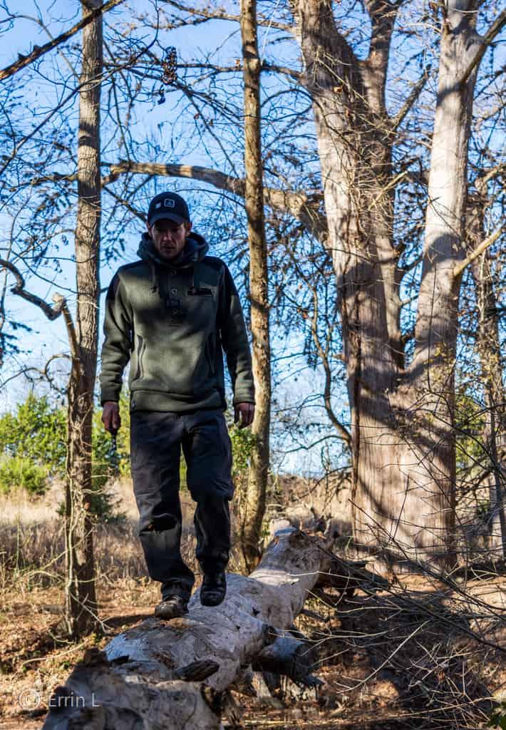 Walking the Fallen Log