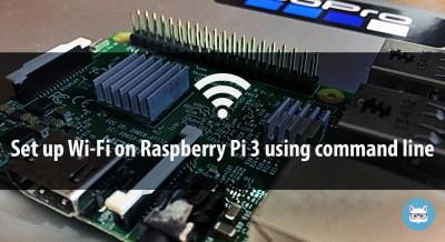 Raspberry Pi Wi-Fi