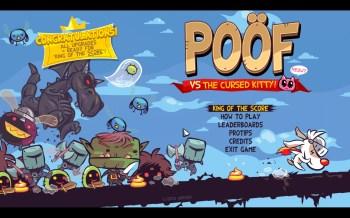 Le menu une fois le jeu terminé, avec l'option King Of The Score au lieu des Missions
