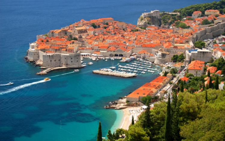 C'est ici, à Dubrovnik en Croatie que Port-Réal se trouve depuis la saison 2