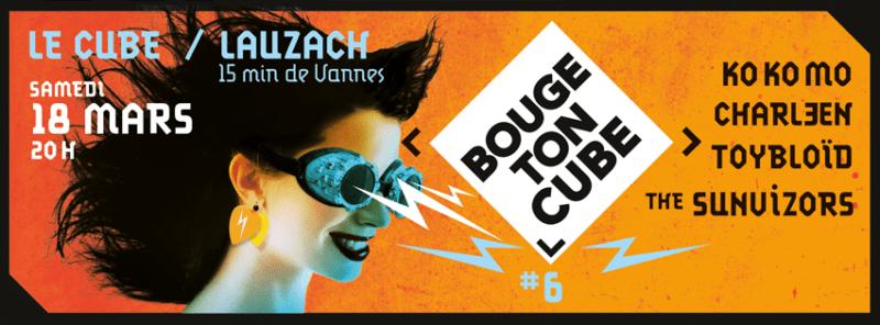 Le festival Bouge Ton Cube à Lauzach