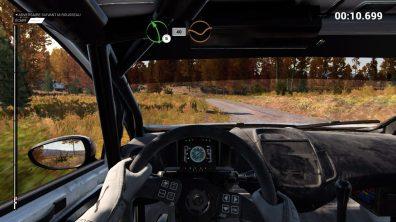 Intérieur de véhicules dans DiRT 4