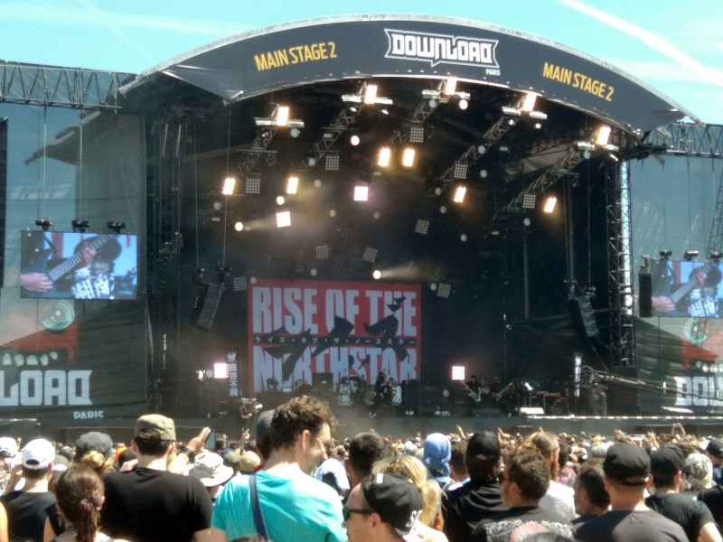 Rise Of the Northstar Download Festival France 2017, le dimanche