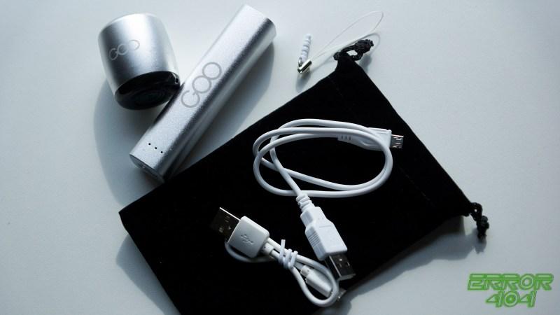 Enceinte batterie externe Goo