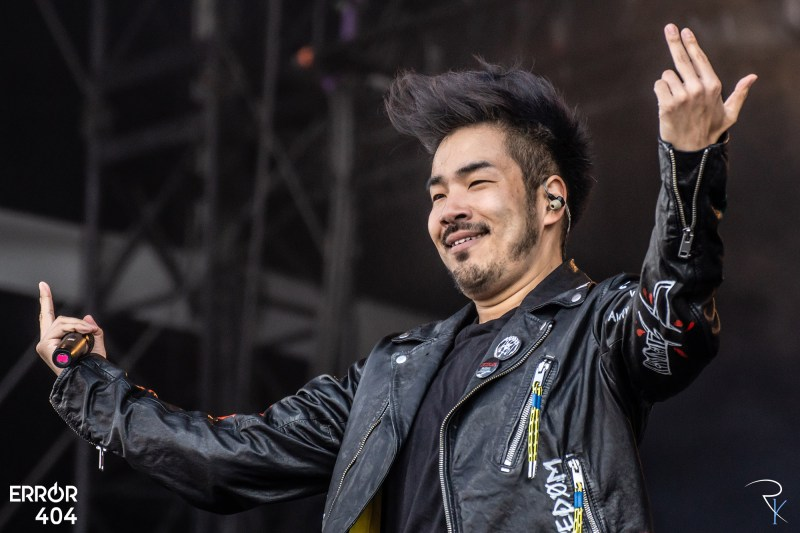 Crossfaith au Download festival Error404