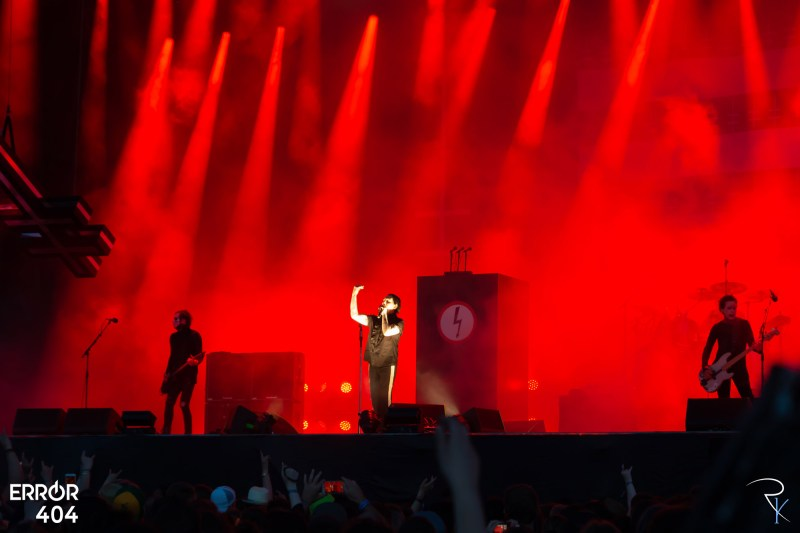 Marilyn Manson au Download festival Error404 par Romain Keller