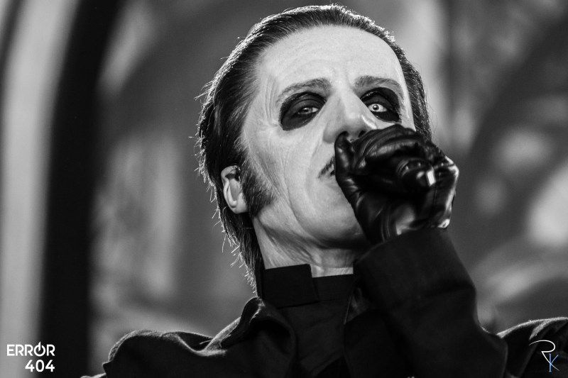 Ghost au Download festival Error404
