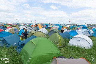Camping du download Error404 par Romain Keller