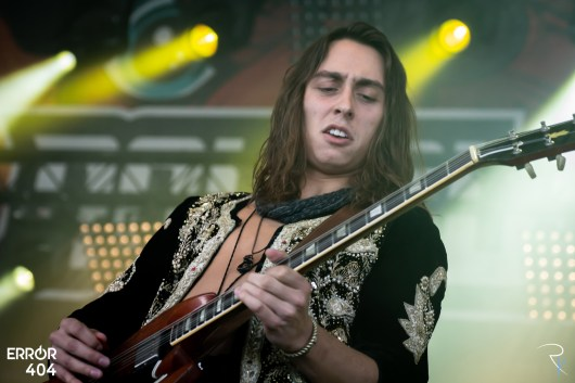 Greta Van Fleet au Download festival Error404 par Romain Keller