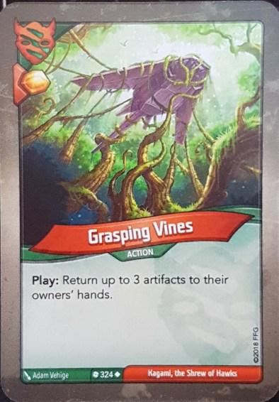 Grasping Vines - Keyforge