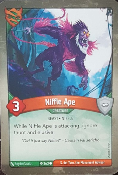 Niffle Ape - Keyforge
