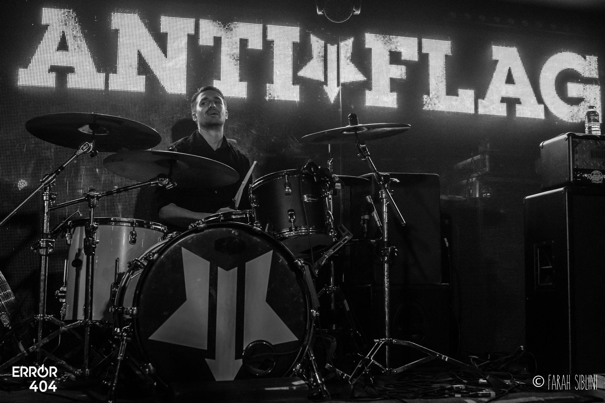 Live Report : Anti-Flag @Gibus – 28/04/19