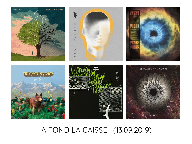 Récapitulatif de sorties – A FOND LA CAISSE – 13/09/2019