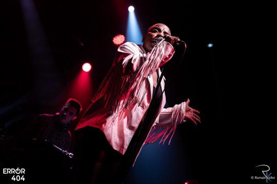 Jessy Wilson à la Machine du Moulin Rouge par Romain Keller pou
