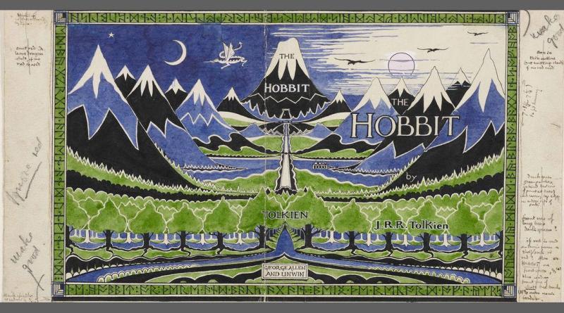Des dragons survolent la montagne Erebor