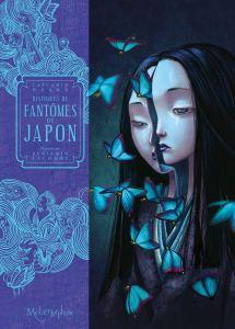 La couverture de l'ouvrage montre une jeune femme au visage scindé en deux. Des papillons s'envolent de son corps