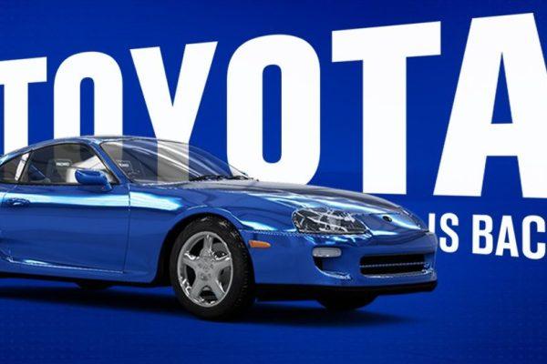 Forza Horizon 4 x Toyota