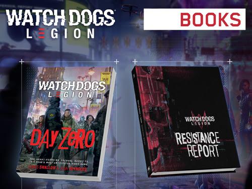 Watch Dogs Legion -kirjat