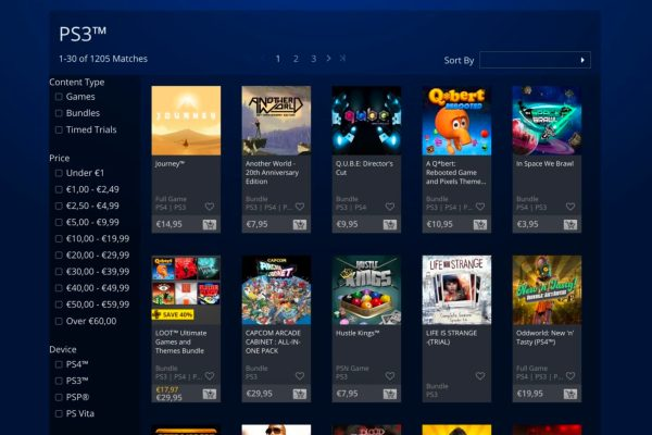 PlayStation Store (PS Store)