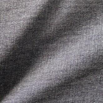 dunkelblau-weiße Webware aus Wolle/Baumwolle