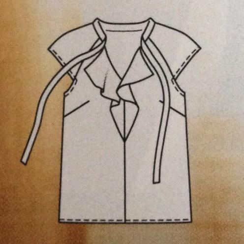 Blusenshirt #109c - Quelle: Burda Style