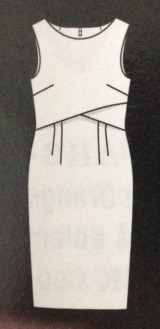 Kleid #111 - Quelle: Burda Style