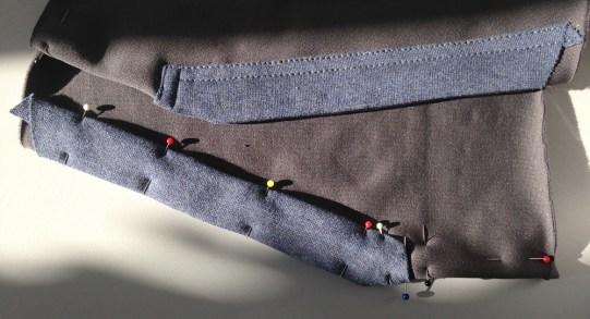 Tascheneingriff in progress