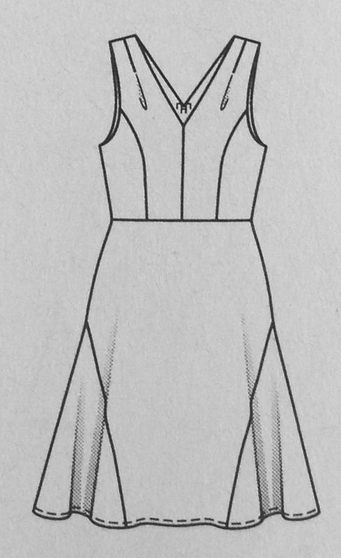 Kleid #112 - Quelle: Burda Style