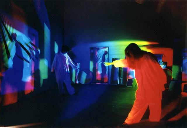 Prism - Solar Spectrum light art , Secrets of the Sun, by Peter Erskine