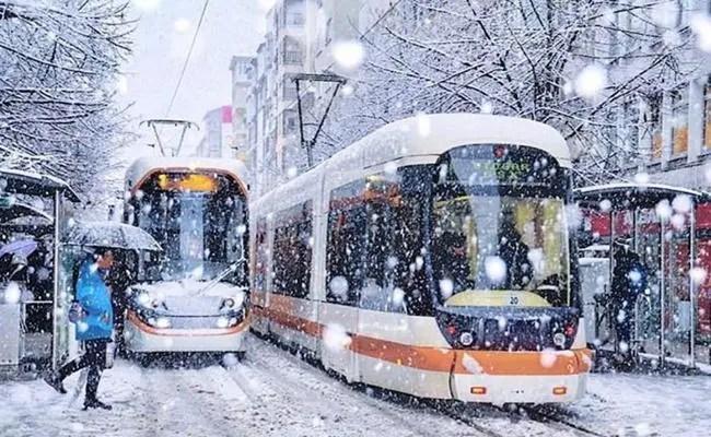 eskişehir kar yağışı