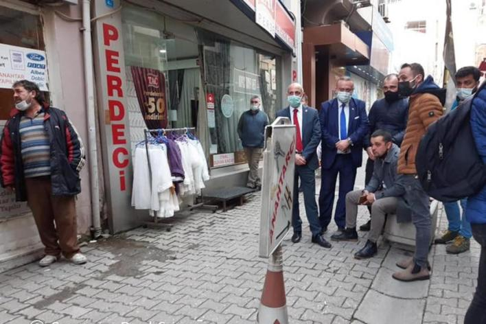 Uşak'ta bir esnaf ekonomik sorunlar nedeniyle yaşamına son verdi Resat Keskin