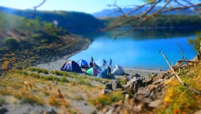 Nemrut Krater Gölü Kamp Alanı