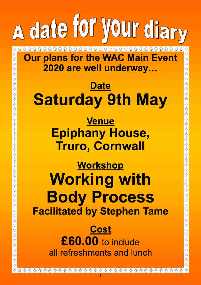 WAC The Main Event - Working with Body Process
