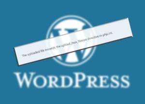Cara Meningkatkan Batas Maksimal Upload File Wordpress