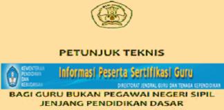 persyaratan sertifikasi guru 2016 non pns