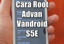 Root Advan Vandroid S5E