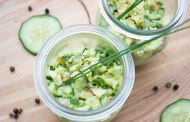 Tuna and Avocado Salad Pots