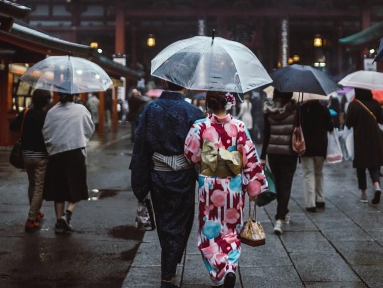 Wanneer is het regenseizoen in Japan?