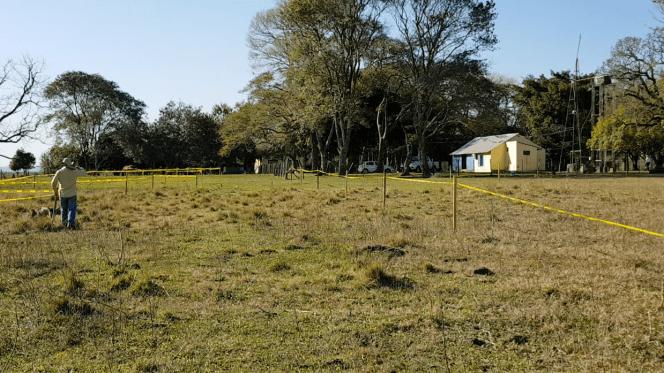 Blick von der künftigen Süd-Terrasse des Gyms
