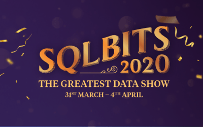 Speaking at SQLBits in London (postponed to September 2020)
