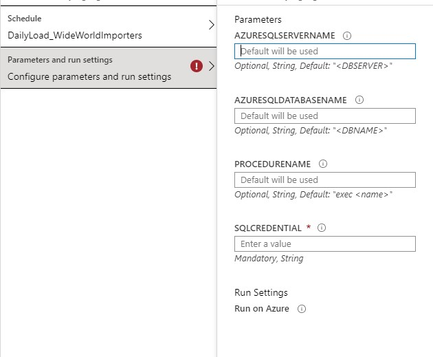 Create Azure Automation