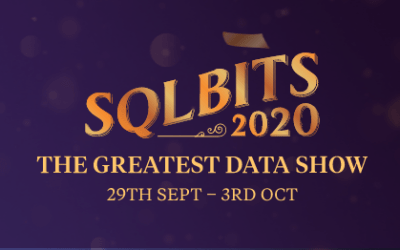 My Virtual Session at SQL Bits 2020