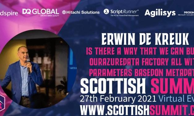 My Virtual Session Scottish Summit 2021