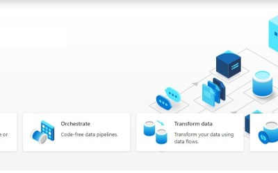 The new and refreshing Azure Data Factory home page