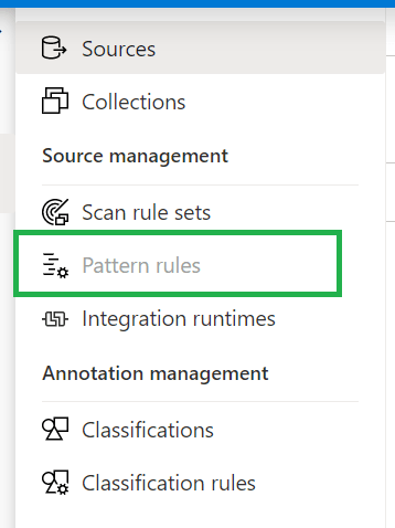 Azure_purview_pattern_rules