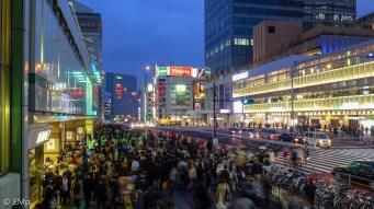 Slow speed di Shinjuku
