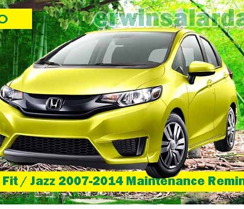 How to Reset Honda Civic 2012-2015 Maintenance Reminder