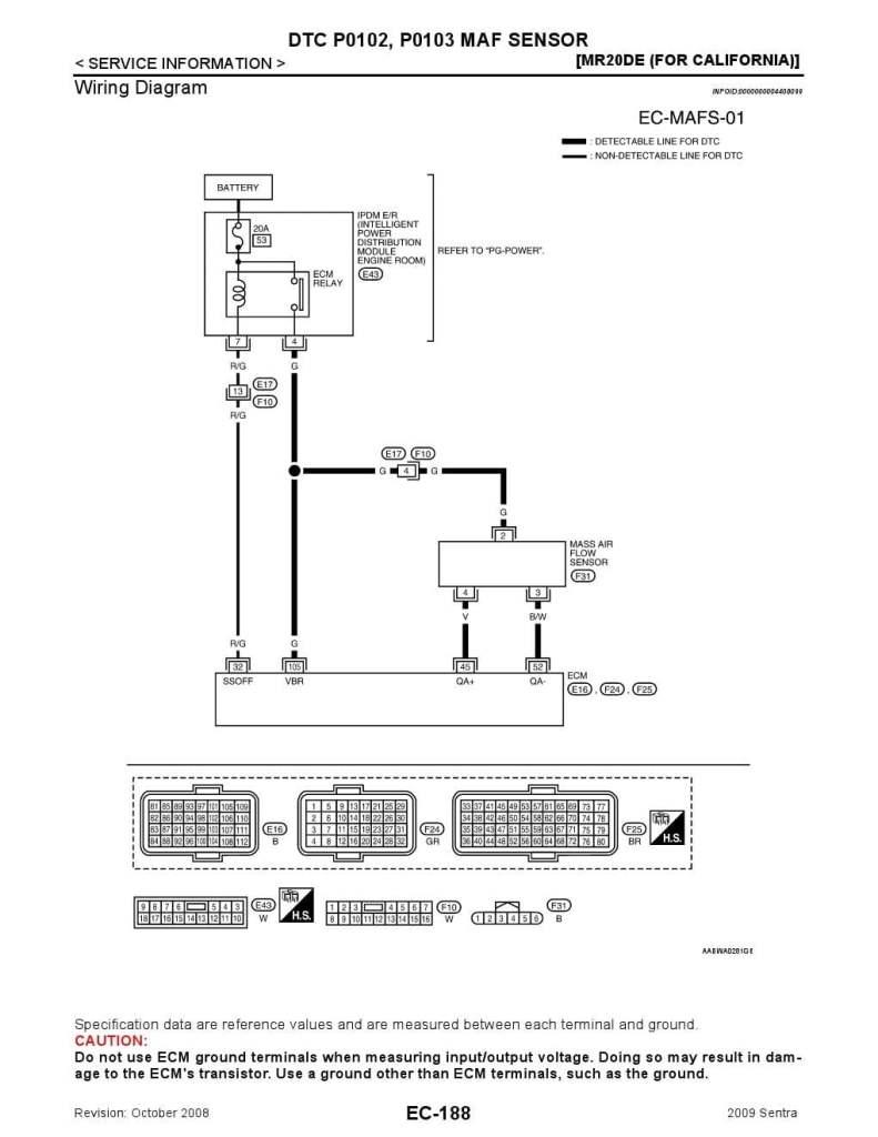 88 nissan sentra wiring diagram nissan dtc p0102  p0103 maf sensor  nissan dtc p0102  p0103 maf sensor