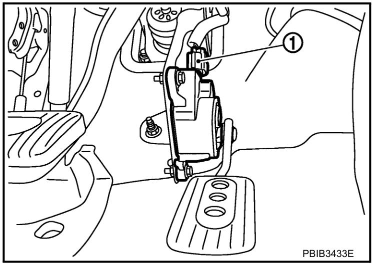 Nissan Accelerator Pedal Position App Sensor